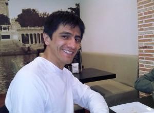 Автограф-сессия в кафе - Manuel Ospina.
